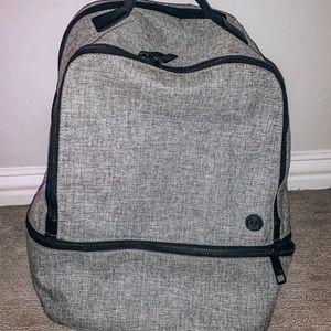 gray lululemon backpack